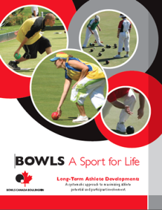 BCB LTAD Bowls A Sport for Life